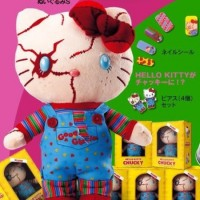 Hello Kitty Chucky Mashup Doll