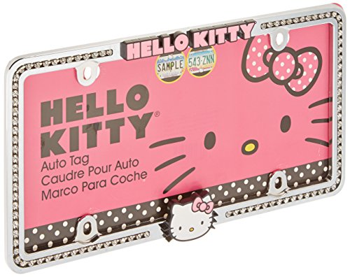 It comes with pre-drilled bolt slots for easy installation. This is one of our favorite Hello Kitty car accessories because it's easy to install and gives ...