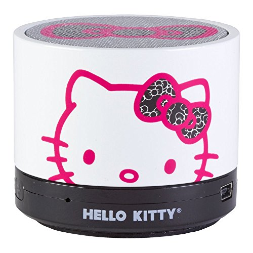 hello kitty bluetooth speaker we love kitty. Black Bedroom Furniture Sets. Home Design Ideas